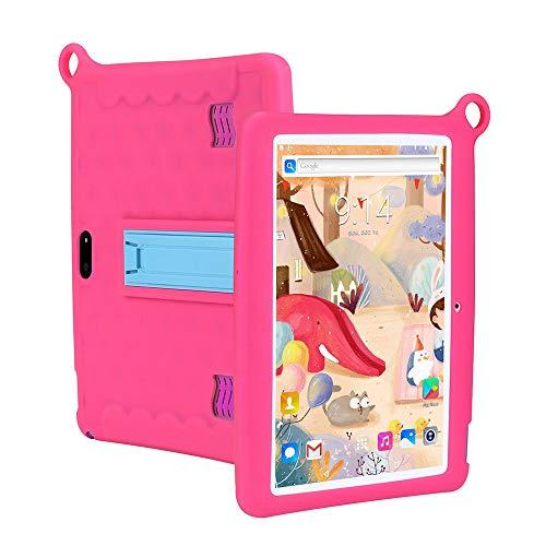tablet PC para niños PC de Aprendizaje de 10 Pulgadas Android 8.1 Edición para niños Computadora con Carcasa Protectora Compatible con WiFi GPS