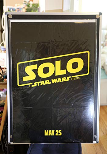 Solo A Star Wars Story Teaser Original Double Sided Rolled 27x40 Movie Poster 2018