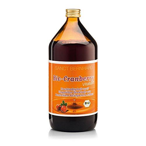 Sanct Bernhard Bio Cranberry Vital-Saft 1 Liter