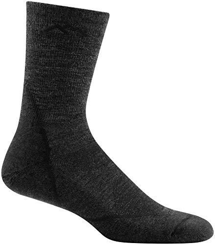 DARN TOUGH (Style 1972) Men's Light Hiker Hike/Trek Sock - Black, Large