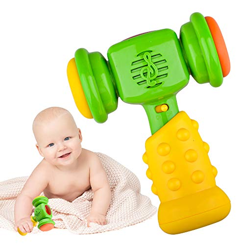 Regalo para niños de 1 a 3 años, niños y niñas, juguetes de martillo musical para bebés de 12 a 18 meses, juguete educativo de aprendizaje para niños pequeños de 1 a 2 años, regalo de cumpleaños