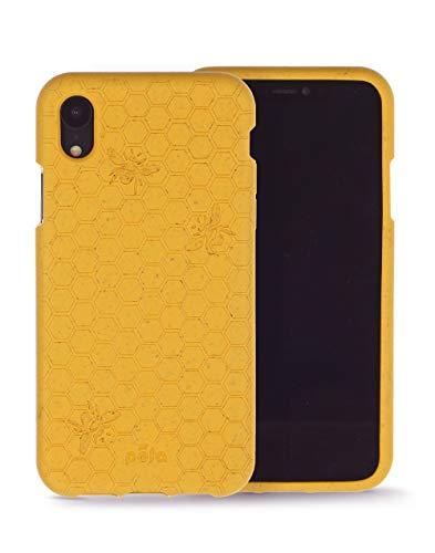 Oferta de Pela - Funda para el iPhone XR - 100% compostable - Biodegradable - Hecho con Plantas - Cero residuos (XR Honey Bee)