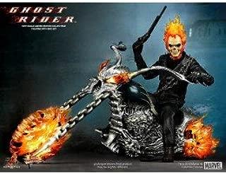 La figura de acción Ghost Rider con motocicleta Hellcycle Escala 1/6 de la colección de edición limitada: Amazon.es: Juguetes y juegos