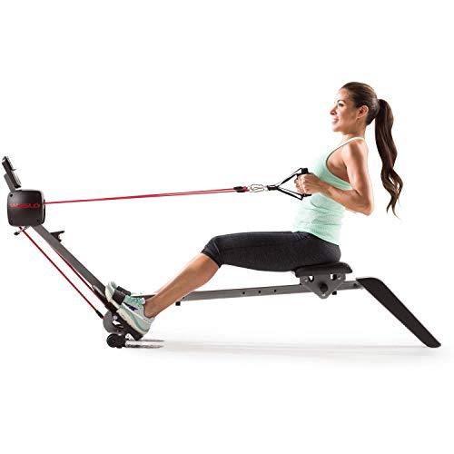 Weslo Flex Rower 3.0 Rameur à tirage Central/Résistance Ajustable/2 exercices en 1 : Musculation...