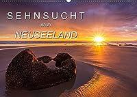 Sehnsucht nach Neuseeland (Wandkalender 2022 DIN A2 quer): Kommen Sie mit auf die Sehnsuchtsreise mit diesen grandiosen Landschaftsbildern. (Monatskalender, 14 Seiten )