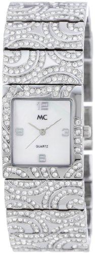 MC Timetrend Damen-Armbanduhr Analog Quarz Metallband 11308