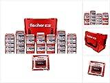 fischer 558740 L-BOXX 238 Profi-Holzschraube mit ETA-Zulassung für nahezu alle Anwendungen, 3400 Power-Fast II Schrauben mit Teilgewinde, grau