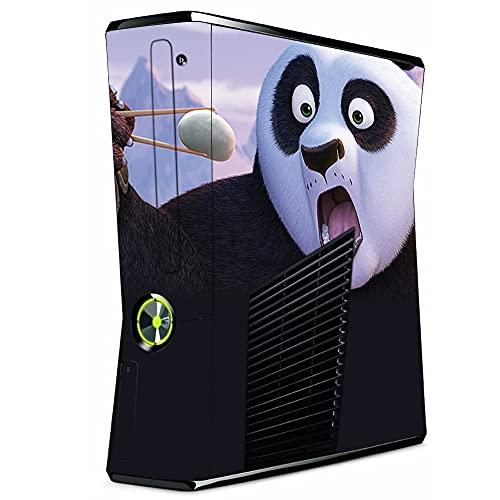 VINILOL Vinilo para Xbox 360 Slim pegatina cubierta Kung Fu Panda skin para consola.