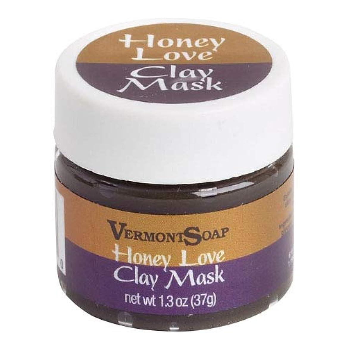 チャット閉塞トランペットVermontSoap バーモントソープ ビューティーマスククレイ HONEY LOVE CLAY MASK (S) 37g