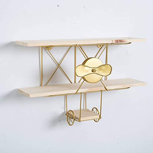 WWWANG Drijvende Planken Triangle/vliegtuig Plank Muur plat houten Bookshelf Muur Industrial Modern rackframe van Binnenlandse Woonkamer Slaapkamer, Boek Storage Opknoping Rack Organisator Unit, Hui