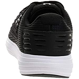 Under Armour Women's Surge SE Running Shoe, Black (001)/White, 9
