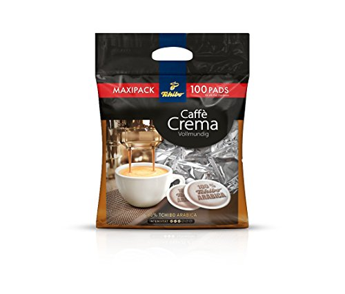 Tchibo Caffè Crema Kaffee-Pads (100 Stück)
