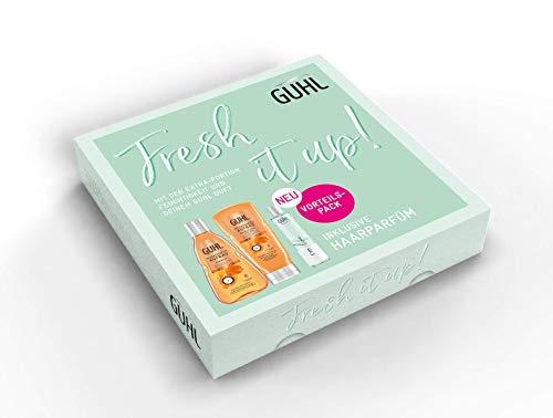 Guhl Fresh It Up Feuchtigkeitsaufbau Vorteilsset - Shampoo, Conditioner und Haarparfum, 800 g