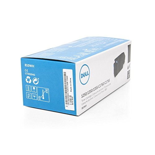 Toner cartridge Original Dell 1x Black 593-11140 / DC9NW XXL for Dell C 1760 nw