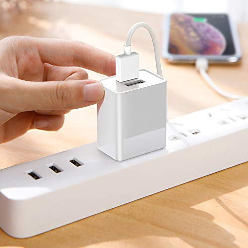 Dual USB Ports Wall Home House AC Charger w/USB Charging Cable for Sony WH-CH500, WH-CH700N, C400, XB950N1, 1000XM2 (WH-1000XM2), 1000X MDR-1000X, h.Ear on 2 Wireless Headphones