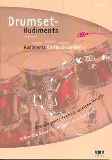 DRUMSET RUDIMENTS - arrangiert für Schlagzeug - mit CD [Noten / Sheetmusic] Komponist: BERG ANDREAS