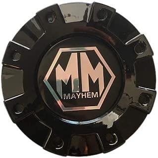 Mayhem Wheels Dually 8101 Monstir C108101B02-R 813220825 Gloss Black Rear Center Cap