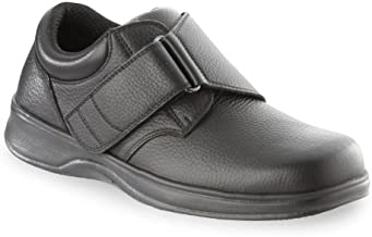 Orthofeet Proven Foot and Heel Pain Relief. Extended Widths. Best Orthopedic Shoes Diabetic Arthritis Men's Loafers. Broadway Black