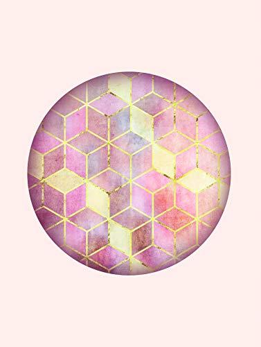 Komar Väggmålning | Mosaik Circle Rosso | affisch, bild, vardagsrum, sovrum, dekoration, konsttryck | utan ram | P093A-30x40 | Storlek: 30 x 40 cm (bredd x höjd)