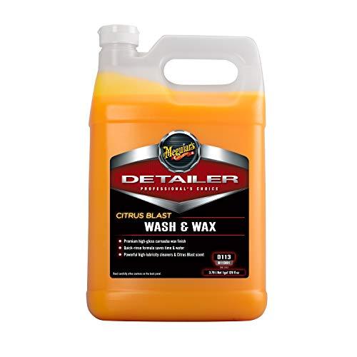 Meguiar's D11301 Citrus Blast Wash & Wax, 128. Fluid_Ounces