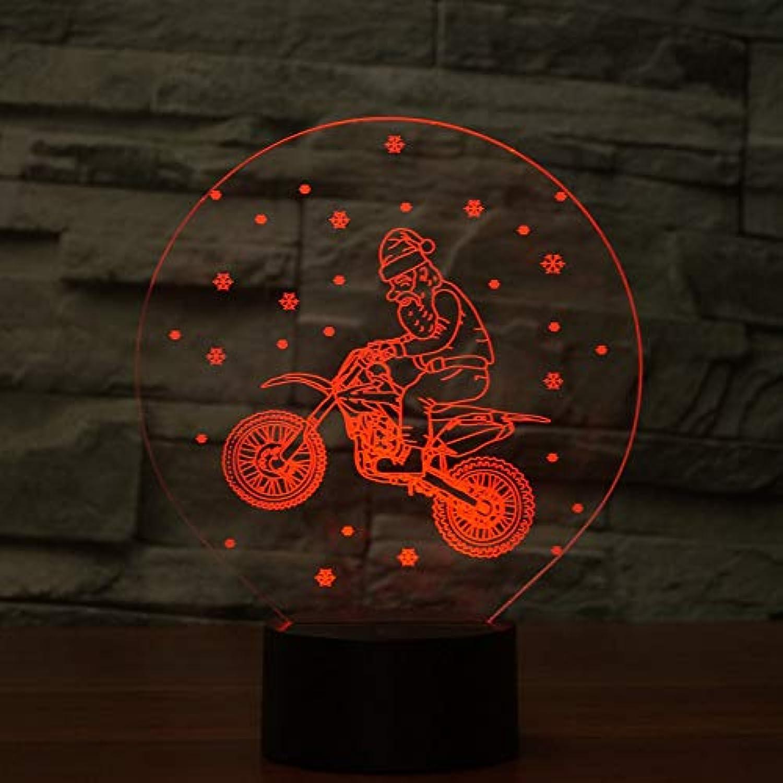 Laofan 7 Farben led Beleuchtung leuchte Home 3D nachtlicht für Kinder Touch Button USB tischlampe Baby Schlaf Geschenke,Berührungsschalter