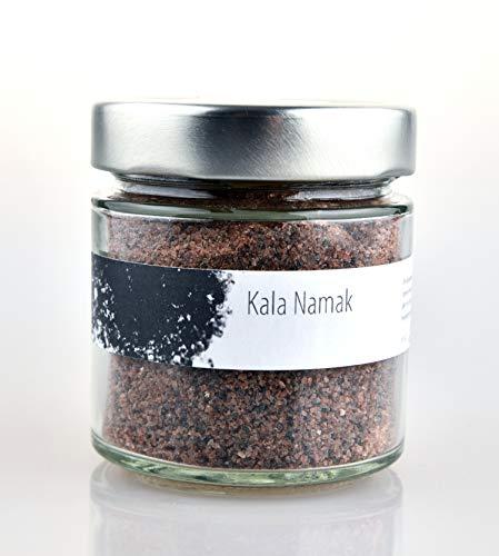 Geropp Gourmet Kala Namak Indisches Schwarzsalz 200 Gramm im Glas als Gewürz für Rührei und Rührtofu, für die vegane Ernährung
