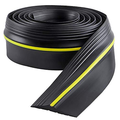 Sanbege Garage Door Threshold Seal 10 Feet, Garage Floor Seal Strip, Garage Door Weather Seal Bottom, DIY Weather Stripping Replacement Rubber