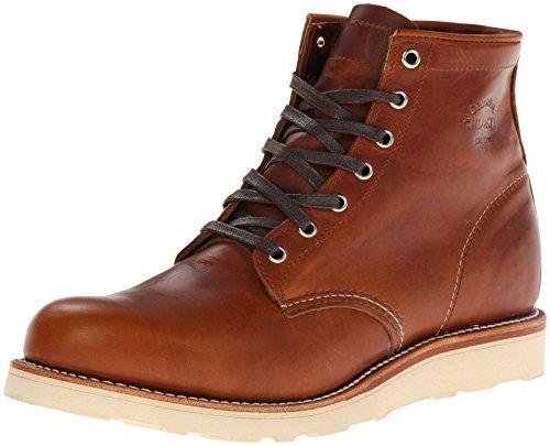 Original Chippewa Collection Men's 1901M17 6 Inch Plain Toe Boot, Tan Renegade, 11 D US
