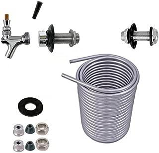 Jockey Box Conversion Kit, DYI Keg Cooler, SS304 Coil Kit [Select a Size : 50', 70', 120'] (50 Feet Coil)