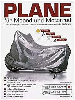 FEZ Abdeckplane mit Befestigungszugband f/ürs Moped