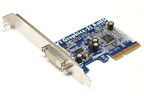 ASRock DVI Graphics SI PCI-E PCI Express DVI ADAPTER, Grafikkarte, NEUW. BULK