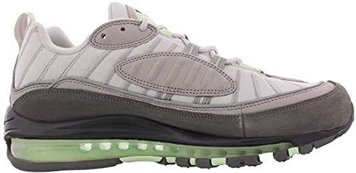 Nike Herren Air Max 98 Leichtathletikschuhe, Mehrfarbig (Vast Grey/Fresh Mint/Atmosphere Grey 11), 44 EU