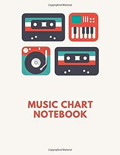 Music Chart Notebook: Music Notation Chart