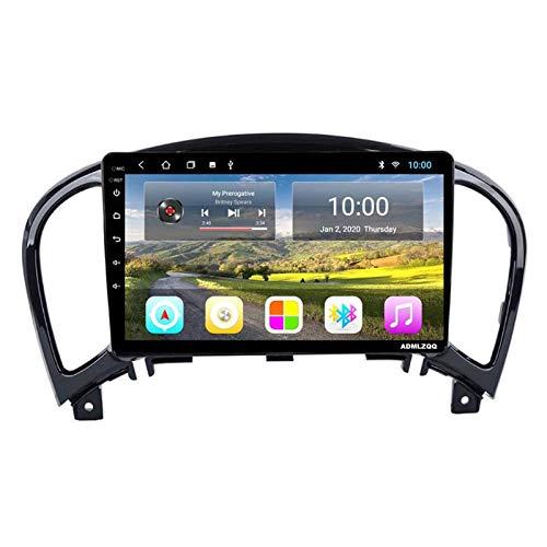 Radio De Coche con Navegación GPS Android 8.1 De 9 Pulgadas para Nissan Juke 2004-2016, FM/RDS/Bluetooth/WiFi/Cámara De Visión Trasera/Controles del Volante,4 Core-WiFi: 4+64G