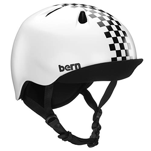 Bern Nino Casque Enfant, Black Checkers, Extra Small