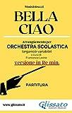 Bella Ciao - partitura smim (Re min.): versione in Re min. (