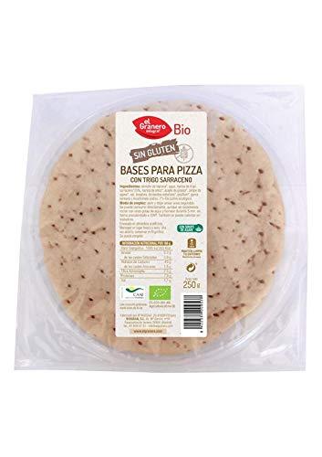Granero Bases De Pizza Con Trigo Sarraceno Sin Gluten Bio 300 g