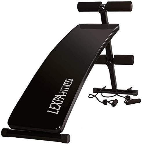 OESFL Weight Bench Home Gym Benches Dumbbell Bench Benches Weight Bench,Foldable Sit Up Bench Adjustable Weight Bench-Utility Weight Benches for Full Body Workout, for Home Gym Straight Plate Adjustab