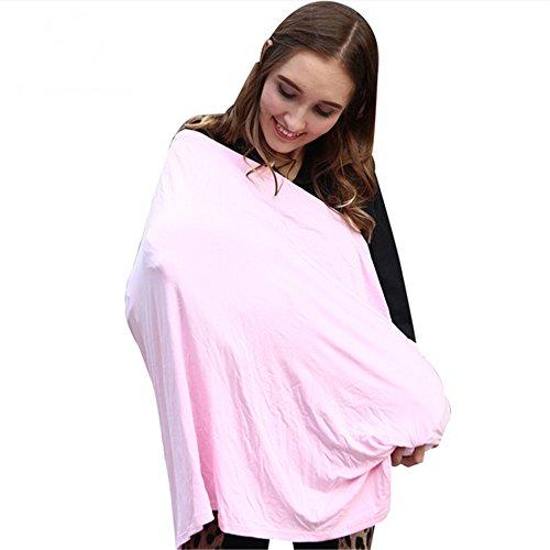 Neuf extensible Rose bébé couvertures d'allaitement Siège auto Cradle Coque Poussette Canopy Shopping Cart Coussin