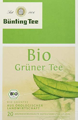 Bünting Tee Bio Grüner 20 x 1.75g Beutel (1 x 35 g)