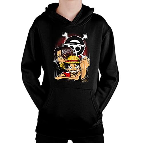 Sudadera de NIÑOS One Piece Luffy Nami Tony Roronoa 033 12-13 Años