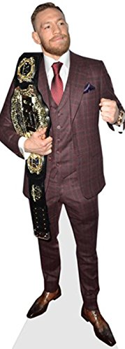 Celebrity Cutouts Conor McGregor (Belt) Pappaufsteller lebensgross