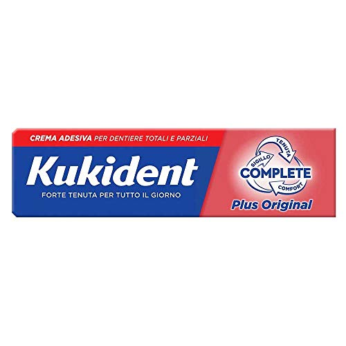 Kukident Crema Per Impianti Dentali Protesi Plus Complete. 1x...