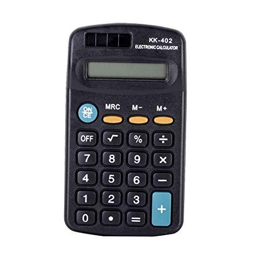 8 cijfers zwarte rekenmachine voor kantoorwerk Studentenstudie briefpapier levering Zwart