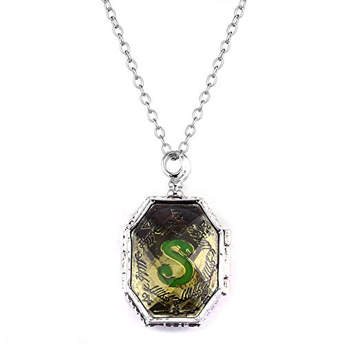 DALAOCU Horcrux Pendant Necklace Locket Necklace for Teens Girl Women S Pendant Necklace Quality Cosplay Jewelry