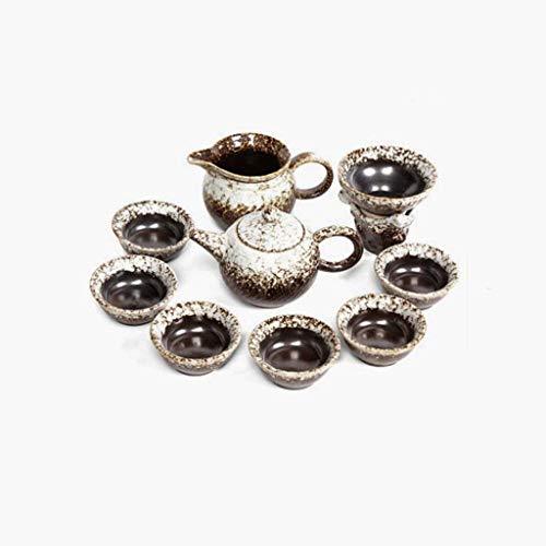 lqgpsx Juegos de té de Horno Retro Juegos de té creativos Juegos de té Juegos de té Juegos de té de Oficina en casa Regalo,Juego de té de Regalo