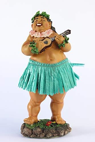 KC Hawaii Dashboard Hula Doll Local Boy with Ukulele 7 inch