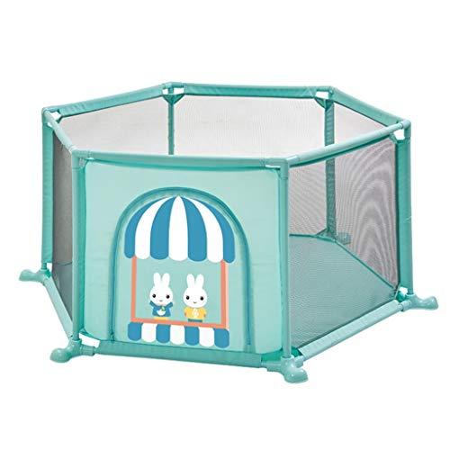 ZHUIL-Baby playpens Antideslizante para BebéS Parque Infant
