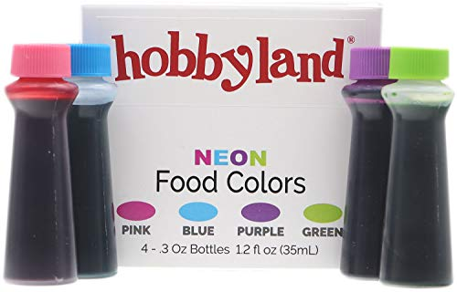 Neon Green Food Coloring