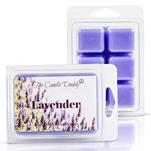 Lavender Maximum Scented Wax Melts- 1 Pack- 2 oz- 6 Cubes